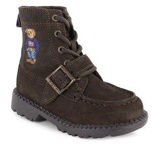 Toddler Ralph Lauren Polo Bear Boots